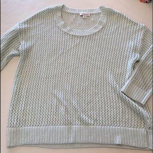 Coldwater Creek fisherman knit sweater
